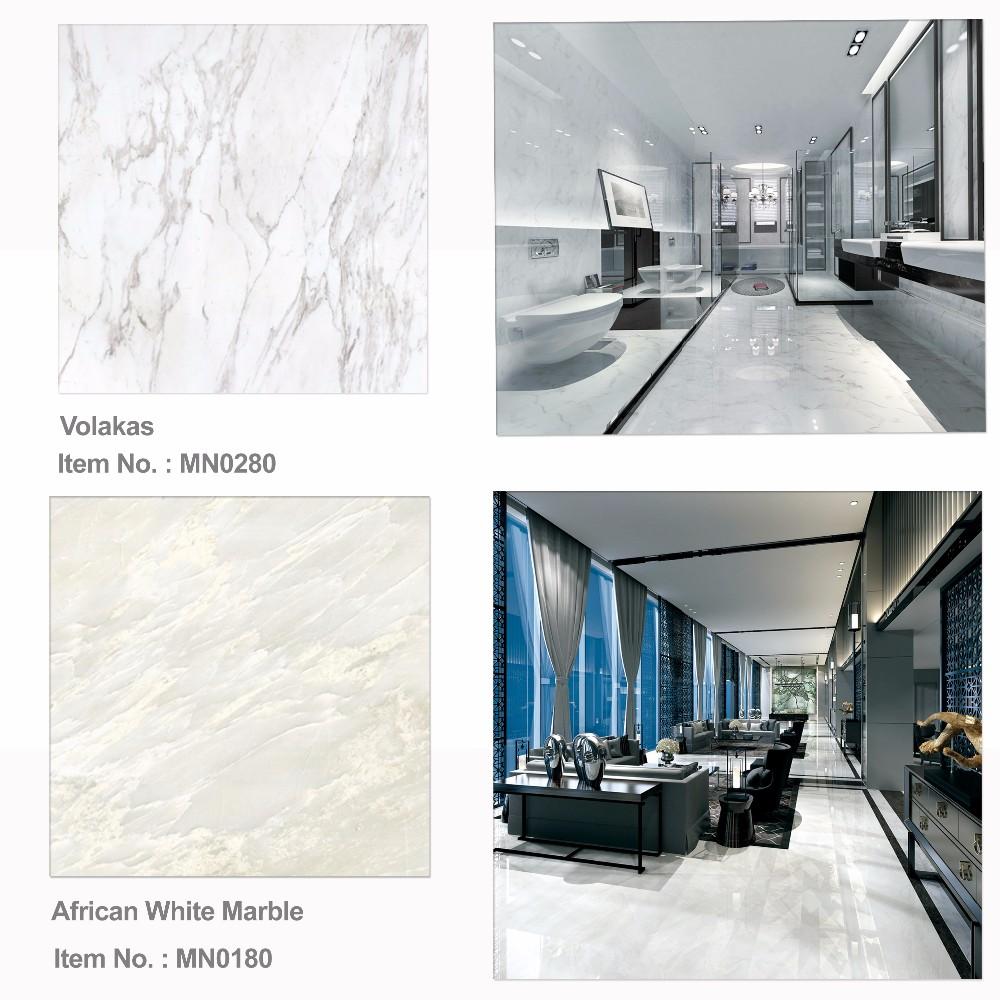 Échantillon de papier blanc poli porcelaine Sol /& Mur Carrelage