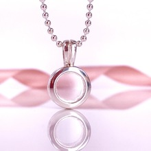 Hot Style Silver Lockets For Floating Charm Openable Pendant Fit For European Style Charm Jewelry