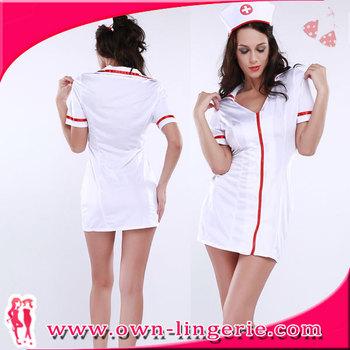 Que significa el vestido blanco de enfermera