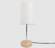 home goods wooden base study table lamps