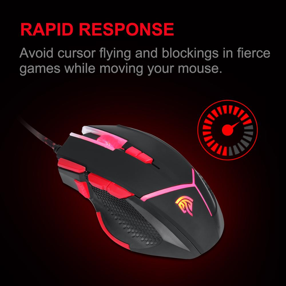 EasySMX V18 Free Sample Available 9d optical Programmable Gaming Optical Mouse