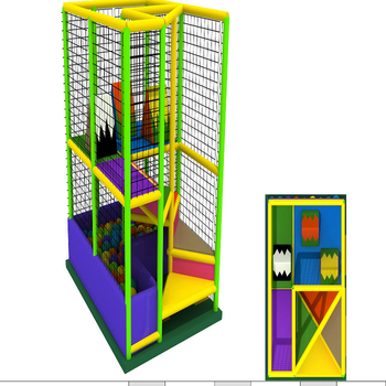 Latest design Forest series of soft play equipaments