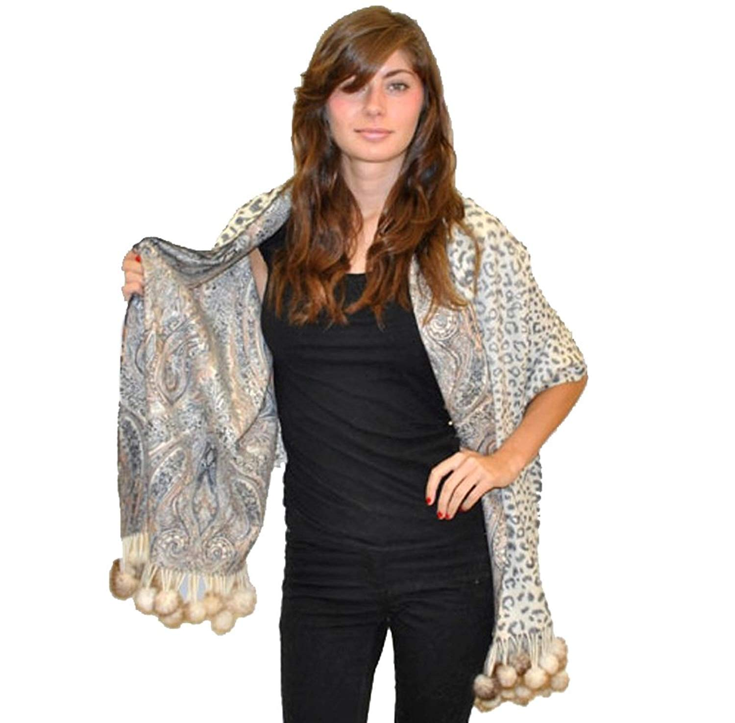 Cheap Pom Shawl Find Deals On Line At Alibabacom Jilbab Pashmina Instan Get Quotations Scarves Cashmere Scarf From Group Reversible With Mink