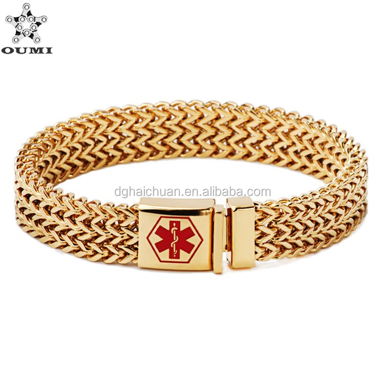 Factory Gold Bracelet Jewelry Design For Girls Stainless Steel