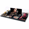 custom plexiglass makeup lipstick stand acrylic cosmetic display stand
