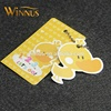 cheap custom full color printing garment paper hang tags for kids clothing