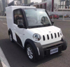 100% electrically powered 4 wheels LHD mini electric van