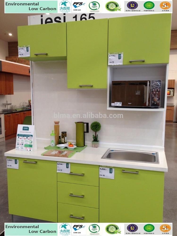 China 16mm tableros de part culas de melamina gabinete de cocina de madera con dise os simples - Tableros de cocina ...