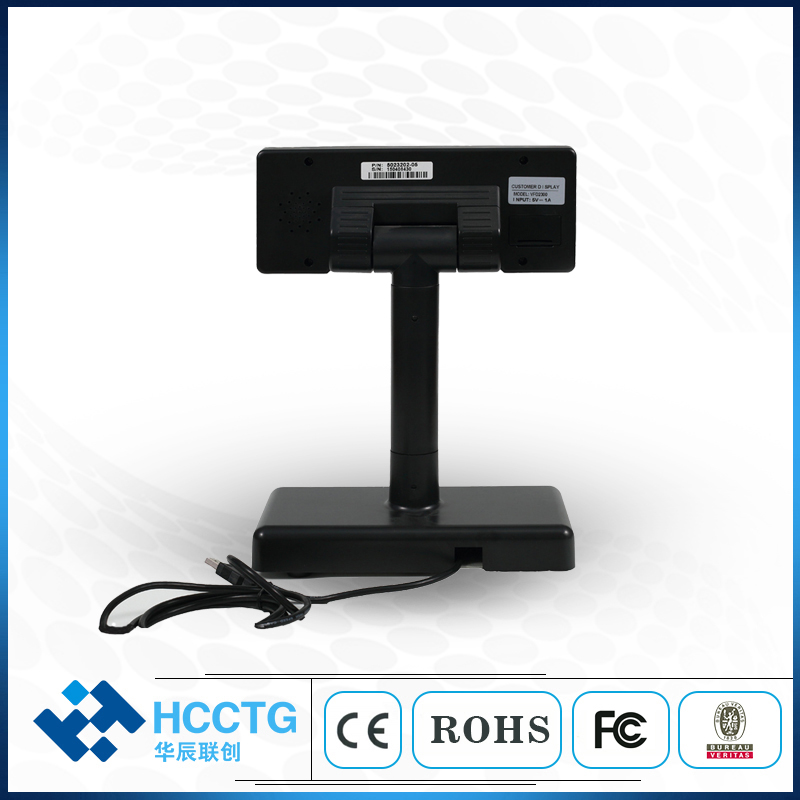 USB RS232 POS VFD Mode 40 Characters Customer Retail Price Display for Supermarket VFD2300