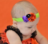 wholesale Halloween baby hair with boys lace children hair band