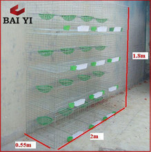 Low Carbon Steel Wire Best Selling in Africa Bird Pigeon Cage Metal Basket