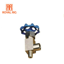 BOMCO drilling mud pump spare parts angle stop valve