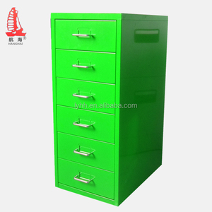 high quality cheap waterproof metal drawer desgin lateral 6 drawer storage file cabinet with key lock