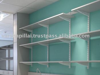 Scaffalature Metalliche A Muro.Scaffalature A Parete Buy Laboratorio Muro Scaffalature