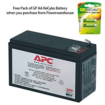 APC BE350R Battery - Genuine APC RBC35 Cartridge #35 Maintenance-Free Lead Acid Battery