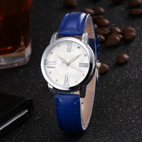 women top brand watch with leather strap bracelet watch factory offer in stock 2017