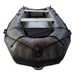 Wholesale Price 1 2 PVC & Hypalon Inflatable Rescue/Military Dinghy Boat  for Sale