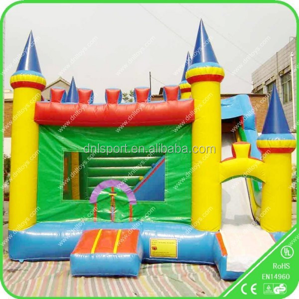 professional supply cheap bounce house with accessories