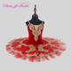 Danyiballet Professional High Quality Cheap Custom Size Red Ballet Child Ballet Costume Tutu