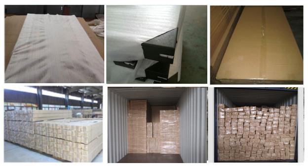 Bangunan Rumah Pintu MDF Bahan PVC Kamar Tidur Pintu Interior