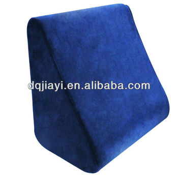 memory foam bed wedge pillow reading wedge bed pillow