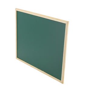 Wholesale school small decorative wall Magnetic Wood Framed Green Chalkboard in wooden Frame