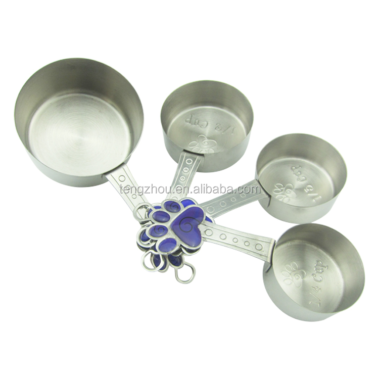 Newest Product 8pcs Stainless Steel Coffee Measuring Spoons