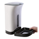 Smart Automatic Pet Feeder Food Dispenser Dogs, Cats Small Animals With Distribution Alarms Programmable Up to 4 Meals a Day
