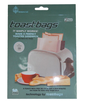 Trade Assurance Toast It Toaster Bags (2 Pack) tool for sandwich making Japanese wholesale products