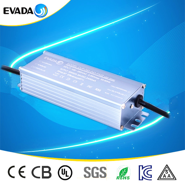 Market price 1500ma led driver power supply 70w