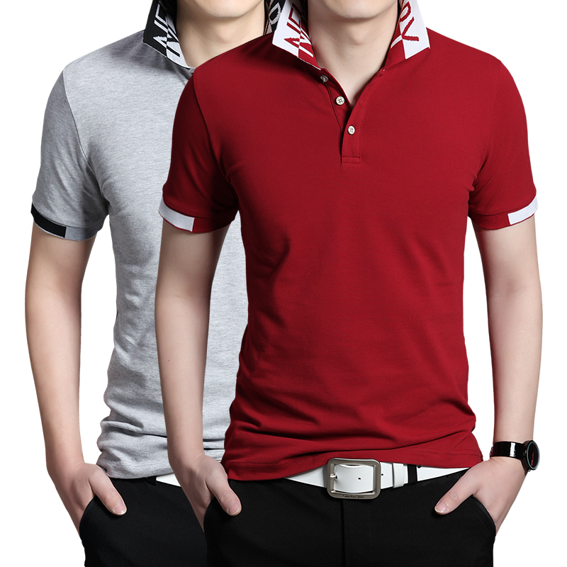 2015-New-Brand-T-Shirts-For-Men-Cotton-Polo-T-Shirt-Plus ...