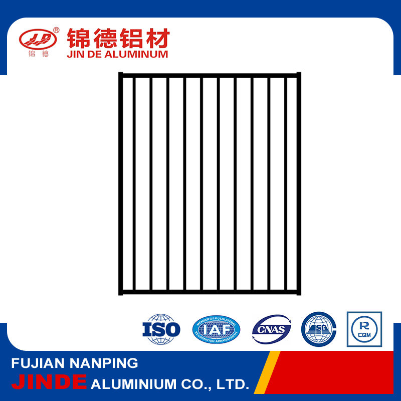 Hot design standard aluminium swimming pool fence