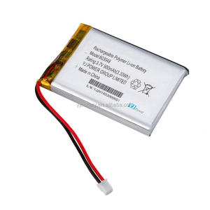 3.7v 900 mah ithium ion battery with smallest rechargeable battery for mobile phone ,bluetooth bms