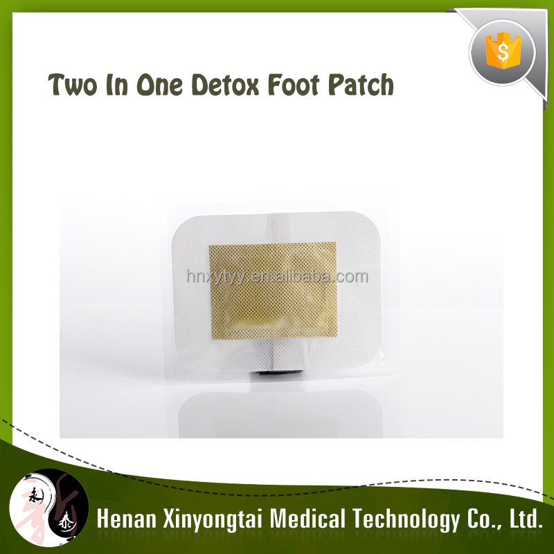 2017Popularity product detox foot pad plaster with two in one for customer