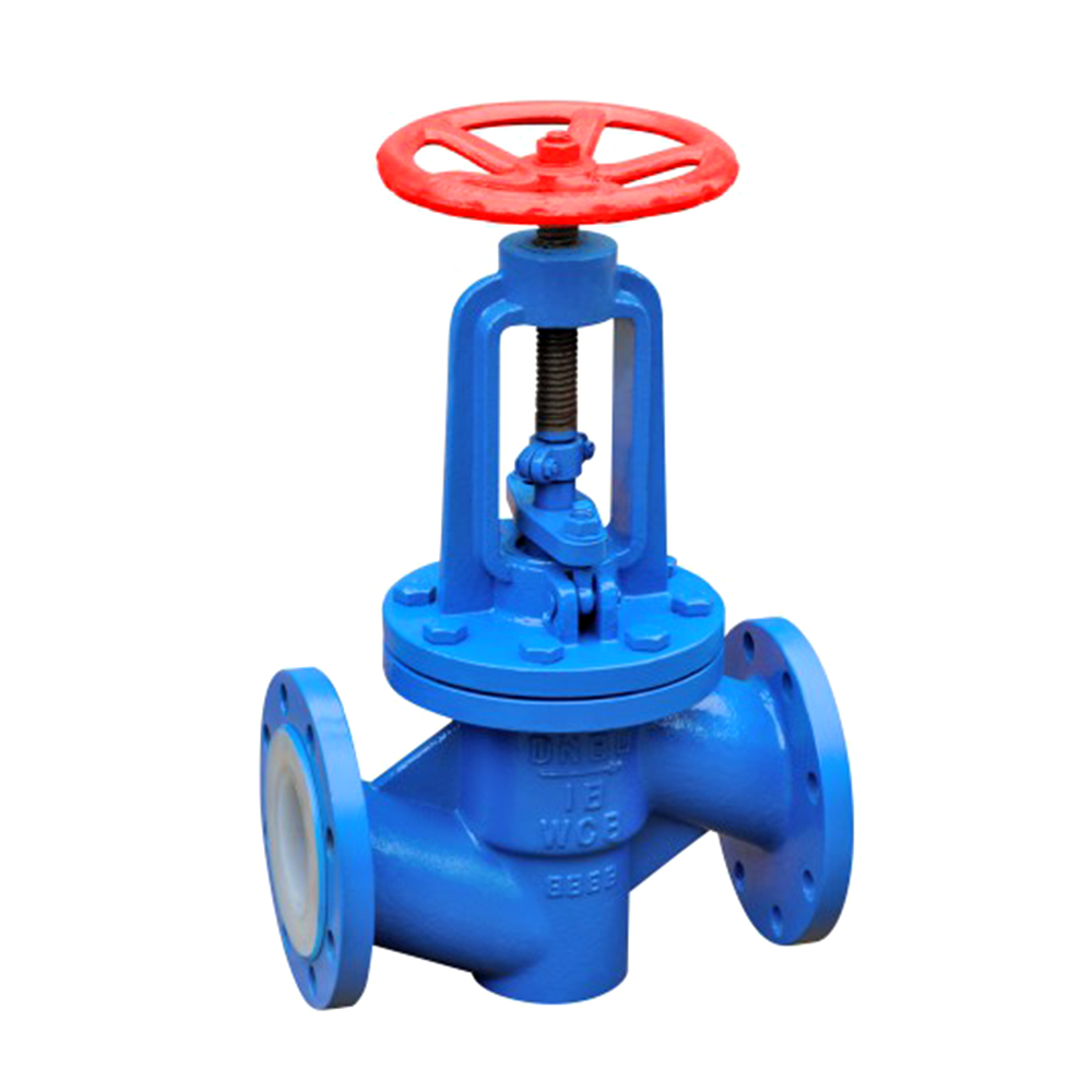 High Quality China Manufacturer simple structure fluorine lined globe valve