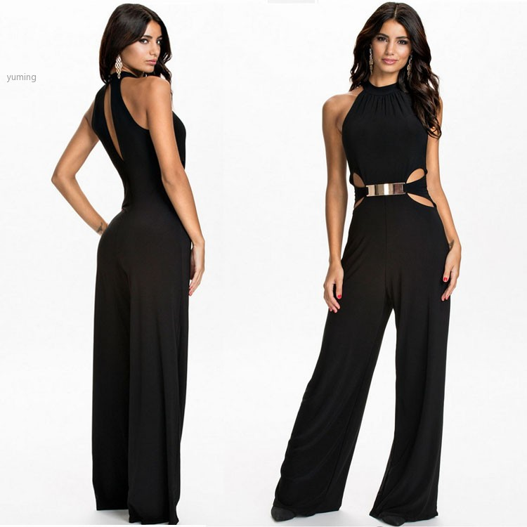 11c1e3b3d5e New 2015 Jumpsuit Womenu0026 39 s Overall Sexy Fashion Waist Jumpsuit Pants  Coveralls XL