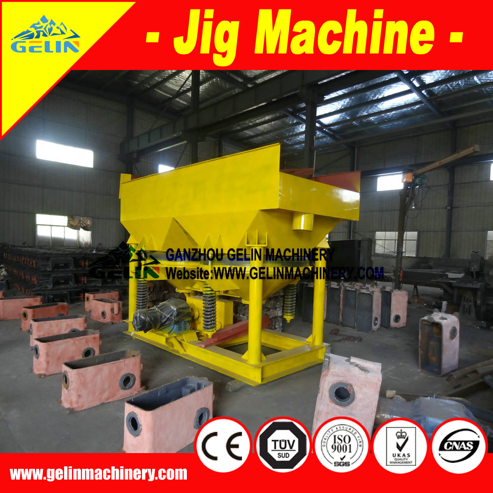 Popular placer diamond Mining Iron Ore Mineral Saw Tooth Jigging machine
