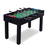 Children indoor games 4ft fussball foosball table soccer telescopic rods table football
