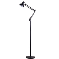 Creative two control dimming modern reading floor lamp