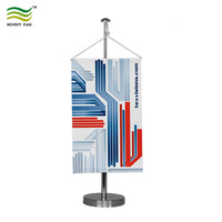 Promotional Custom Printed Countries Decoration Table Desk Flags