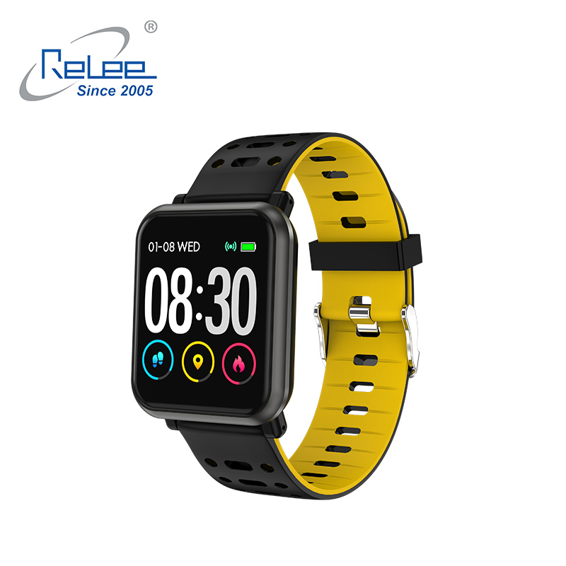 1.4 Inch Full Touch Screen Fitness Tracker Watch Heart Rate Smart Bracelet With Blood Pressure