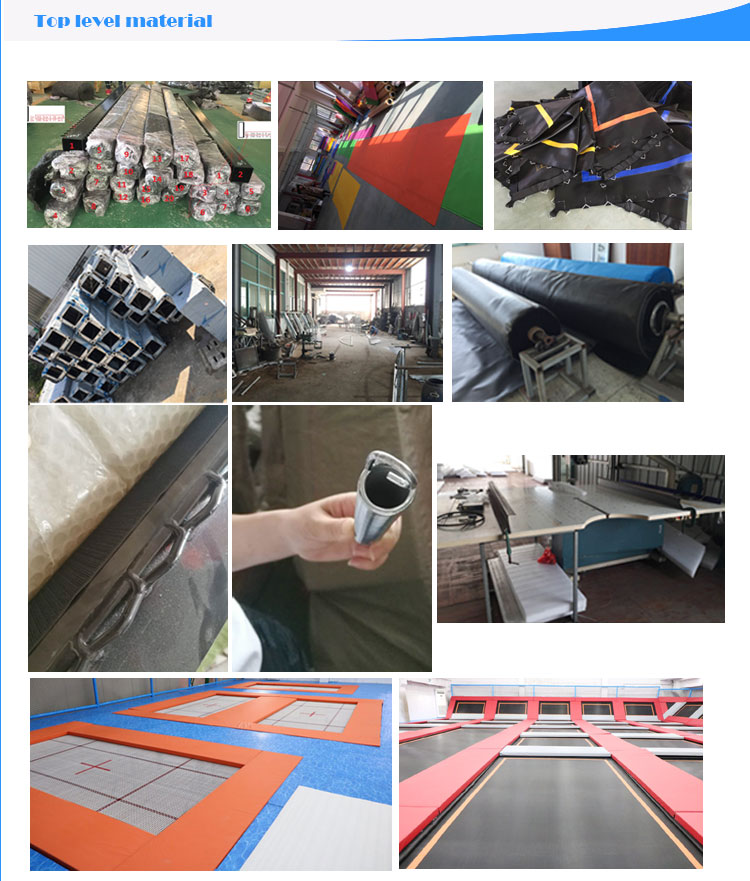 Top fabricante atacado equipamento do parque playground indoor trampolim bungee jumping equipamentos para venda