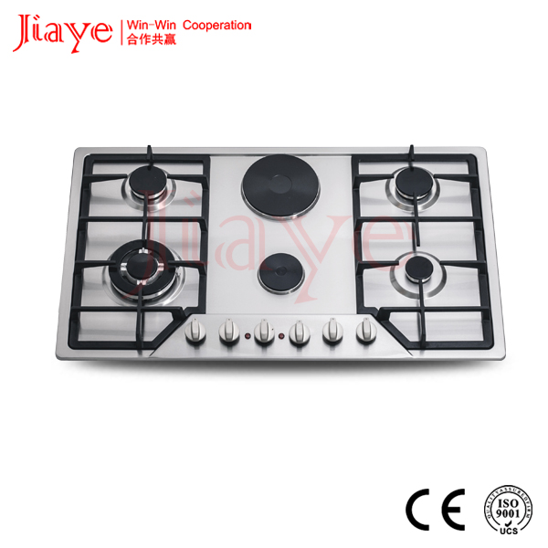 Super power hotpoint built-in gas hob with 2 hotplate JY-ES6001