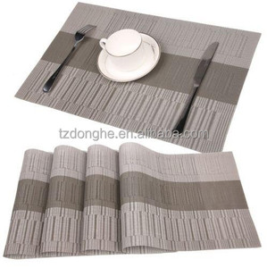 Tabletex wholesale heat-resistant anti-slip bamboo placemat, folding table mat