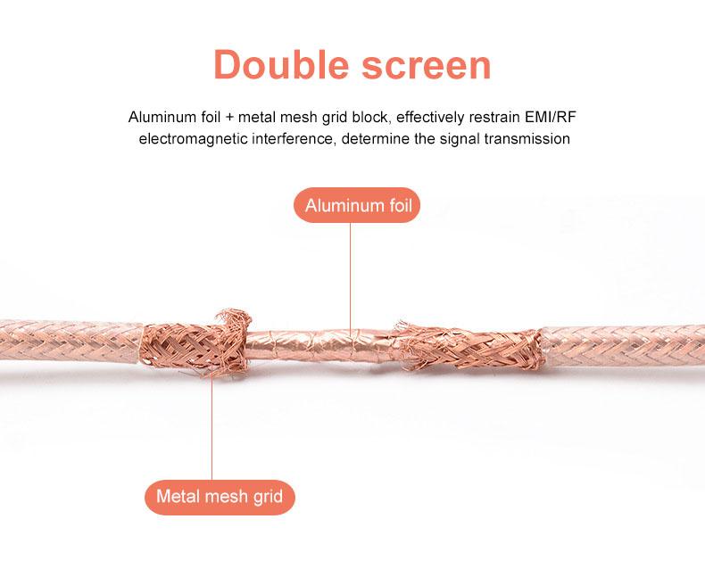 Yüksek kaliteli yüksek hızlı 3D 4K Altın Kaplama Video 2.0 HDMI Kablosu