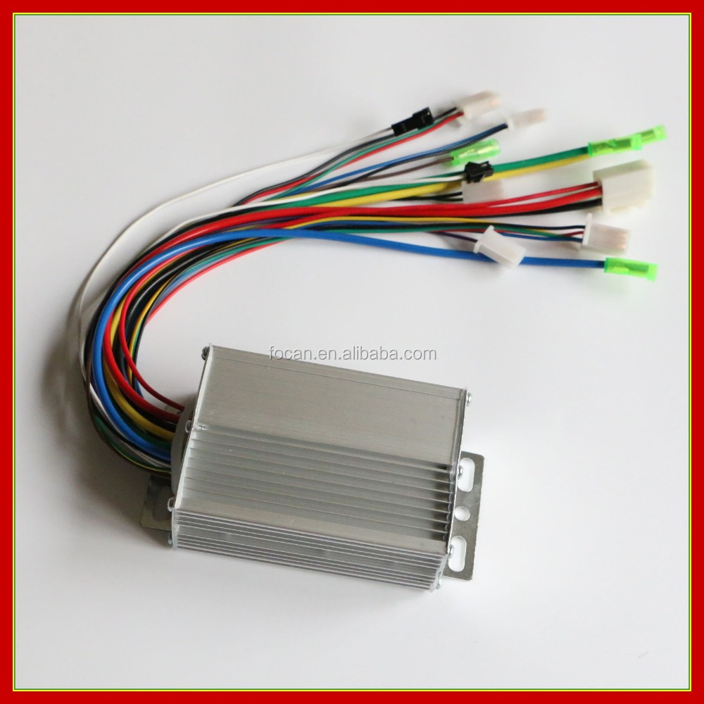 48v 350w Electric Bicycle Bike Brushless Controller 30cm Wire - Buy ...