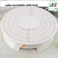 12 inch Plastic Cake Tilting Turntable,Cake Making Tools,Most Popular Cake Tools