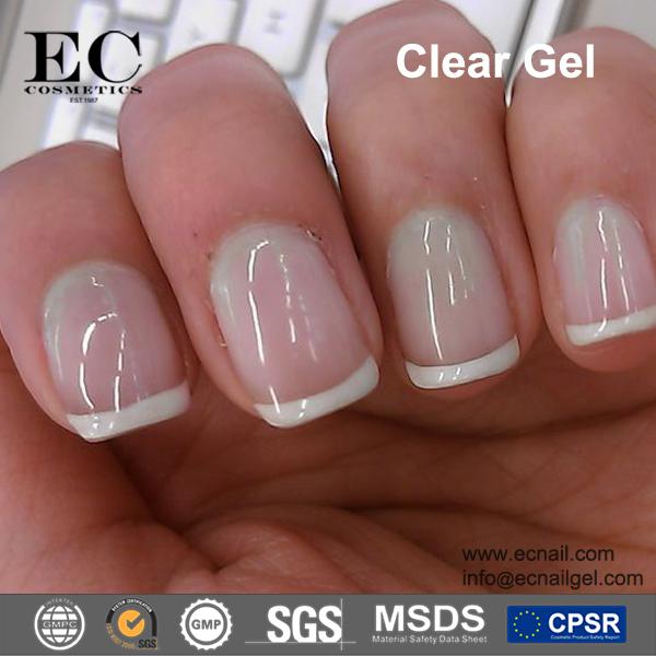 No Wiping Top Coat Uv Gel Closs Acrylic Nail Art Clear Color No Wipe ...
