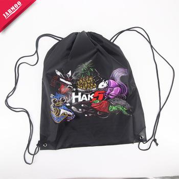 High Quality Custom Drawstring Bags No Minimum Bag Pattern Free Backpack