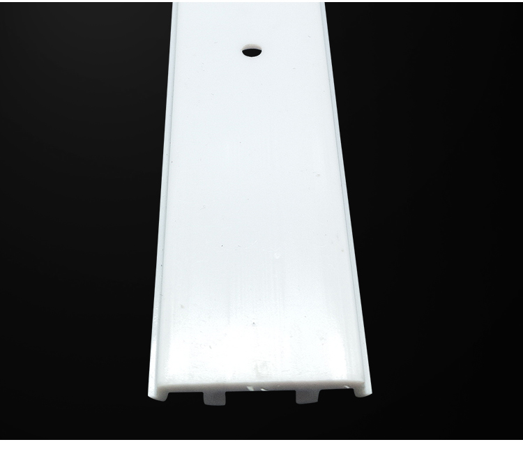 Decorative strip plastic card slot accessories and slot fittings Extruded plastic profiles